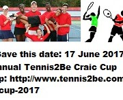 Save this date- 17June - Tennis2Be family cup