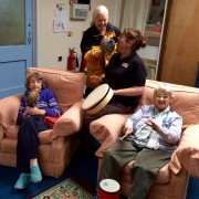Small group at STARS Day Centre, Worcester