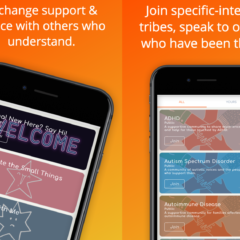 friendship and support app for parents of children with special needs such as autism, ADHD, rare disease, and for disabled parents
