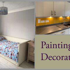 Painting & decorating Daisy The Handywoman
